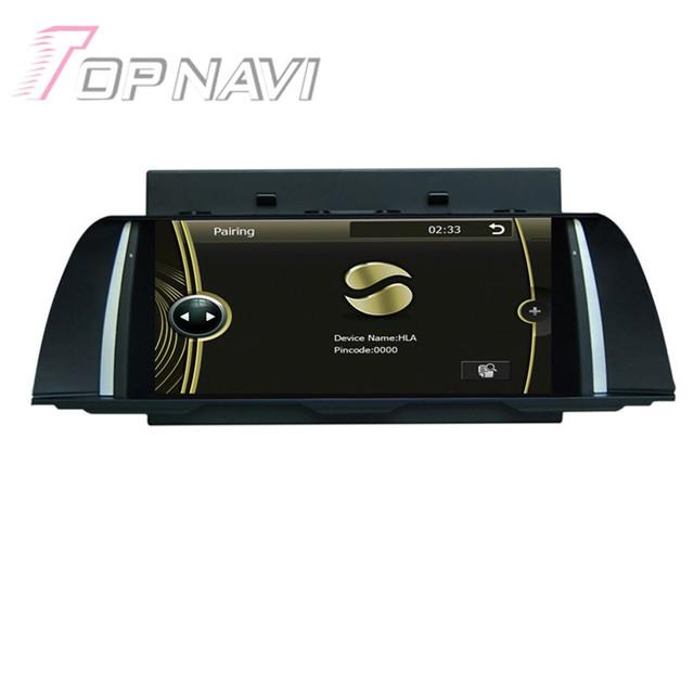 Nova marca de 7 polegada Wince Carro Estéreo de Rádio Para BMW F10 2013-2014 Auto Áudio Do Carro Eletrônica Do Carro PC GPS Navigation DVD Vídeo jogador