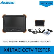 multi-function cctv tester with X41TAC-5M 7″TFT LCD HD-TVI3.0+AHD2.0+CVI+HDMI+VGA+CVBS Camera Video Test Tester for X41TAC-5M