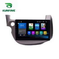 Octa Core 1024*600 Android 8.1 Car DVD GPS Navigation Player Deckless Car Stereo for Honda Fit 2008 2013 Radio Headunit Wifi