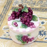 מיץ ענבים פירות עובש שרף סיליקון עובש עובש שוקולד בעבודת יד קופסא תכשיטי תבניות תבניות אבן ארומה