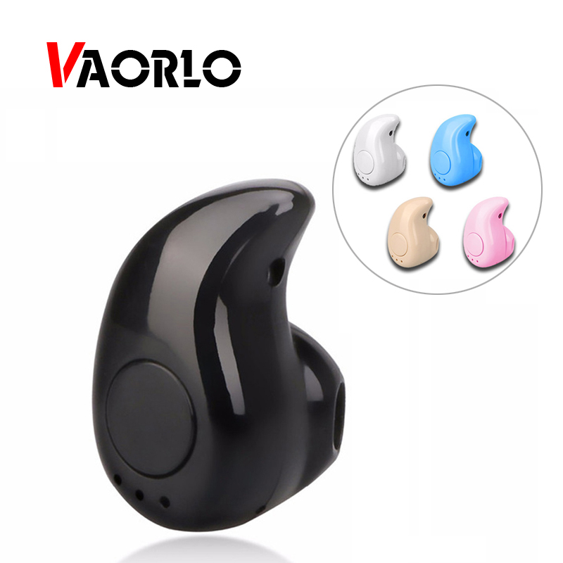 VAORLO Wireless Headphone Bluetooth Earphone Earbuds With Mic Mini Invisible Sport Stereo Bluetooth Headset S530 For xaomi phone