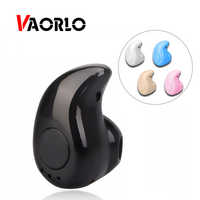 VAORLO Wireless Headphone Bluetooth Earphone Earbud With Mic Mini Invisible Sport Stereo Bluetooth Headset S530 For xiaomi phone