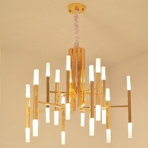 Image 5 - Moderno Ferro Ramo di Arte Star Lampadario di Moda soggiorno Ristorante A Tema Nordic lampada Luce lusso lampada acrilica