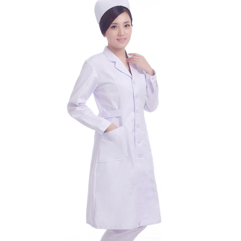Doctor Nurse Uniforms Surgical Clothing Hospital Pharmacy Pharmacist Workwear for Women Medical Beautician Work Wear