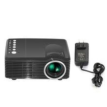 MVpower Mini Home Theater LCD Projectors  400 Lumens 1080P HD Multimedia HDMI AV Cable Remote Control TV/USB/VGA Official store