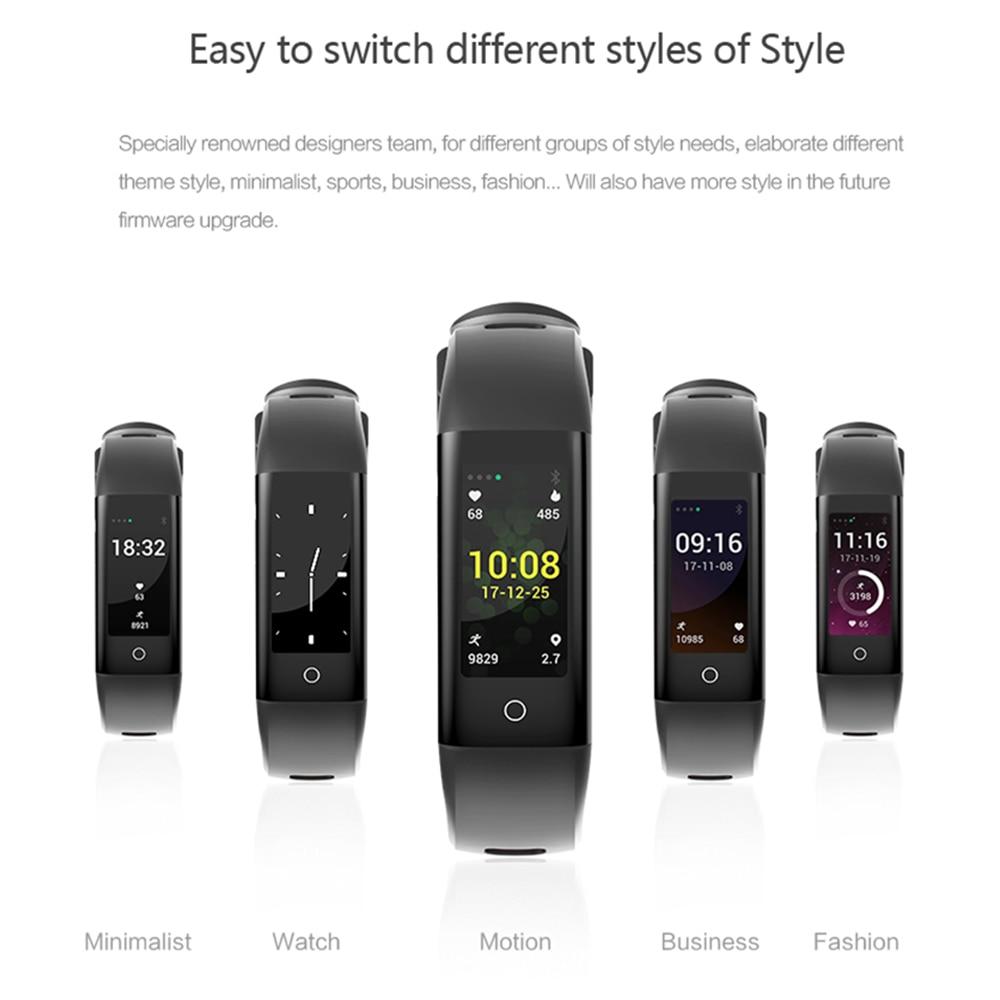 ZUCOOR Smart Bracelet Fitness Tracker Wristband Tonometer Pulseras Smartband Health Wrist Band Eletronicos Touchscreen Bracelets