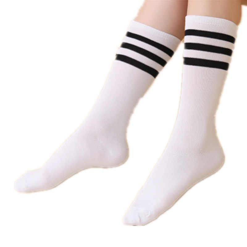 0dbbc343e Hot Newly Fashion Sexy Striped Women s Long Socks Thigh High Over Knee High  Socks Kawaii Cute