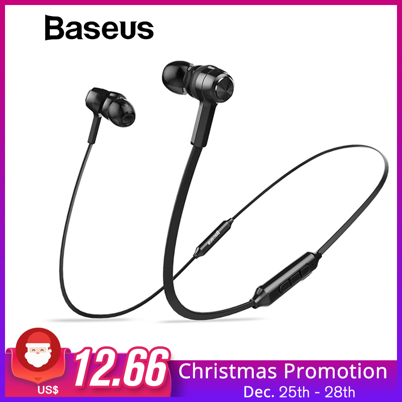 Baseus S06 Neckband Bluetooth Earphone Wireless headphone For Xiaomi iPhone earbuds stereo auriculares fone de ouvido with MIC
