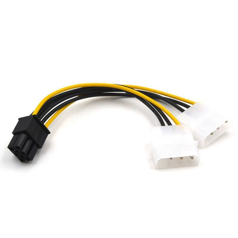 5pcs 8inch ATX 4 Pin Male to EPS 8 Pin Female Power Cable Adapter CPU Power ♫