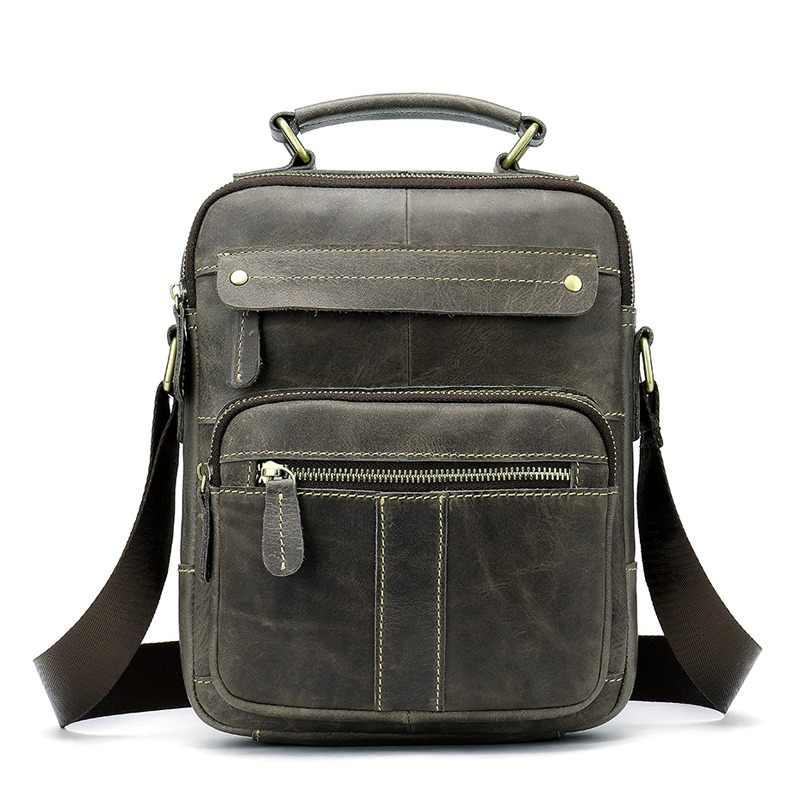 346313bc64 WESTAL Messenger Bag Men Shoulder bag Genuine Leather Small male man  Crossbody bags for Messenger men