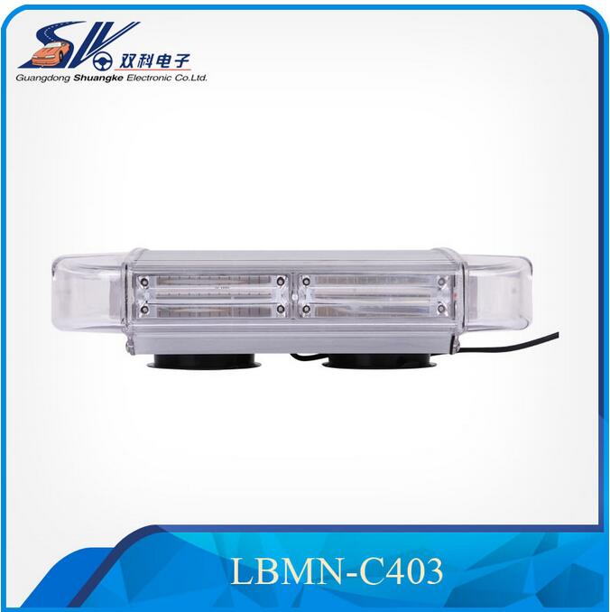 SK 60W COB LED Emergency Vehicle Mini Lightbar/truck Flash Strobe Warning Light Bars