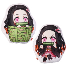Anime Demon Slayer Kimetsu ไม่มี Yaiba Kamado Nezuko Cosplay ตุ๊กตาตุ๊กตา Plush ตุ๊กตาหมอนของขวัญของเล่นหมอนใหม่