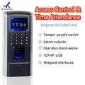 1800 Биометрическая технология контроля доступа отпечатков пальцев с считывателем смарт-карт время и посещаемость персонала 125 кГц DC12V