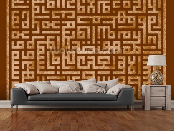 Custom Retro Wallpaper, Islamic Art,3D Wallpaper For The Living Room  Bedroom Kitchen Wall Wallpaper Wall Waterproof Wallpaper In Wallpapers From  Home ...