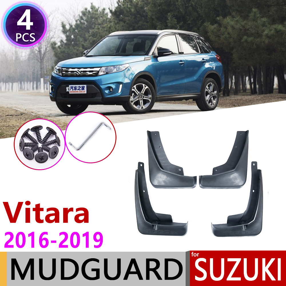 Car Mudguards For Suzuki Vitara Escudo 2016 2017 2018 2019 LY 4th Gen Mudflap Fender Mud Flaps Guard Splash Flap Accessories