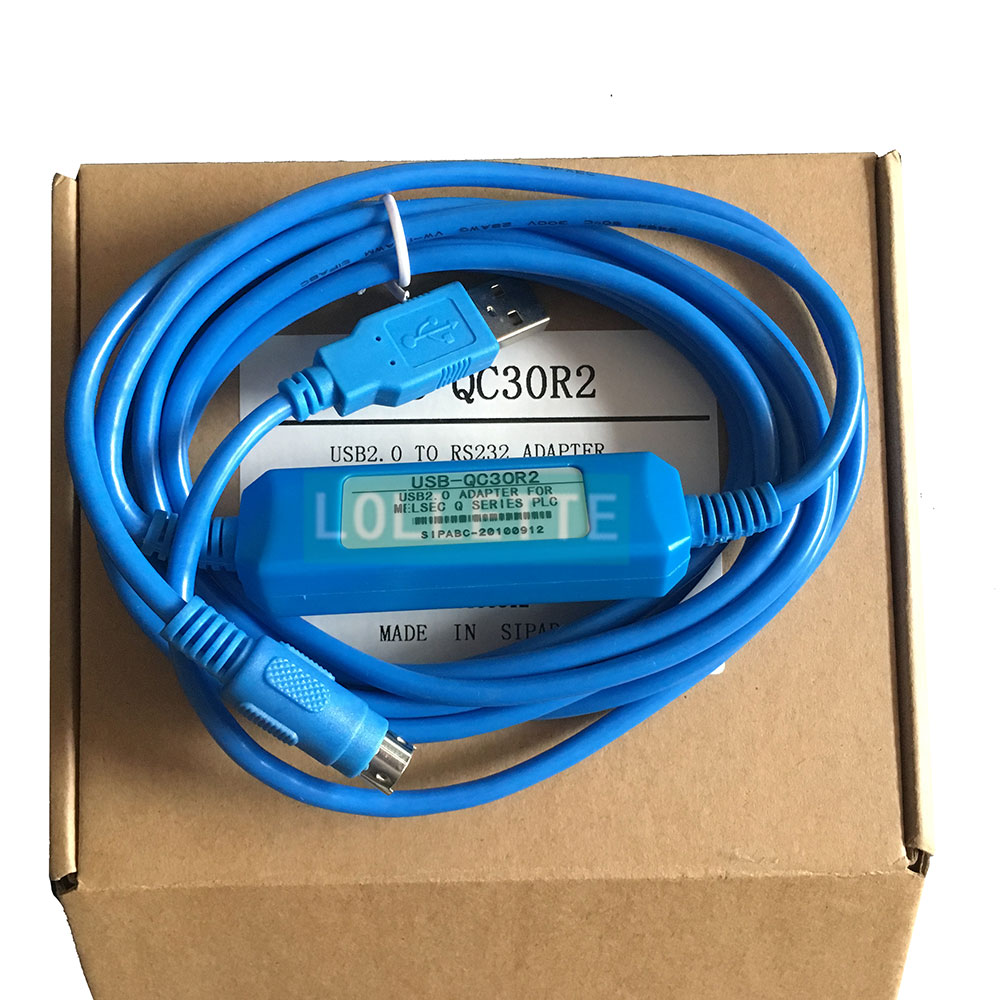 Hot Sale USB-QC30R2 Programming Cable Q series PLC, Support WIN7 ...