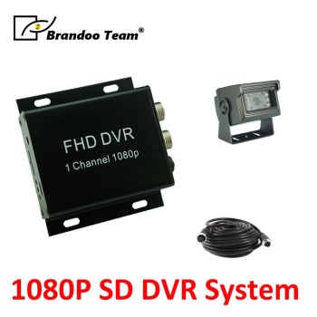 New 9V-30V power input Bus car support 128GB SD Memory 1CH SD Mobile DVR kit