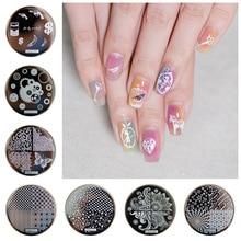 74PCS/Lot Hot 2016!!! 74desig hehe01-hehe74 Design Stamp Image Plate Stamping Nail Art DIY Image Plate Template