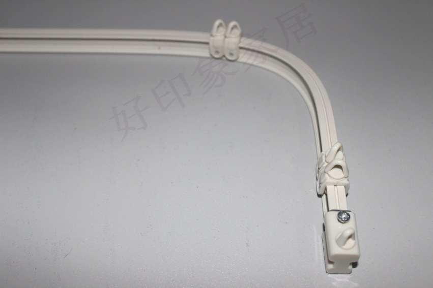 Curtain track curved track curved track rails thick aluminum ...