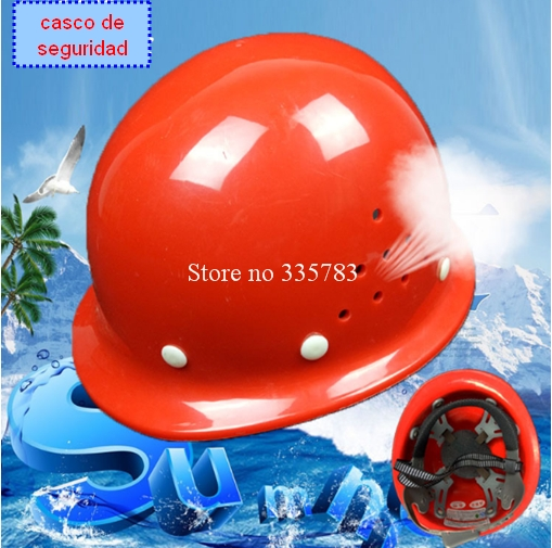 Safety Helmet Construction Head Protection Hard Hat Work Cap Industrial Engineering Work Wear Shockproof PE Insulation Material classic solar energy safety helmet hard ventilate hat cap cooling cool fan delightful cheap and new hot selling