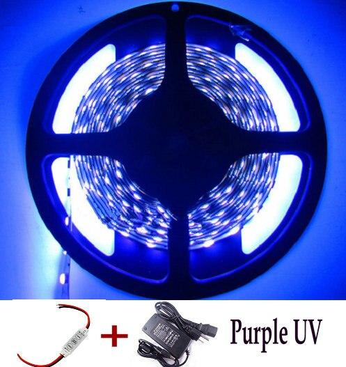 16.4FT 5050 SMD Non-waterproof Lamp 300 leds Light Strip LED Flexible USA Seller