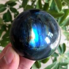 Природный лабрадорит кварц натуральный Мадагаскар 100% кристалл сфера шар Исцеление Кристалл драгоценный камень