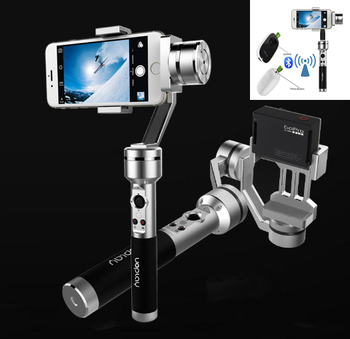 AIbird Uoplay 3-Axis Handheld Universal smartphone Steady Gimbal Stabilizer for iPhone Samsung HTC for GoPro & Action Camera video play button