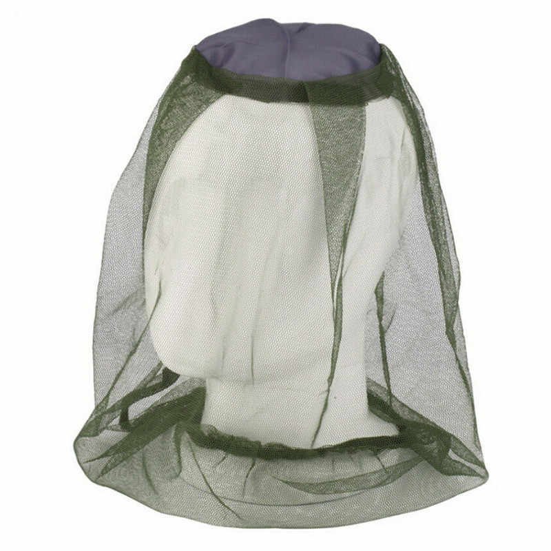 Lungo Zanzariera Cappelli Cappelli di Sun Della Protezione Del Cappello di Testa Cappello Netto con Nascosta Protezione Della Maglia Bug Api per Escursioni di Pesca Dropshipping