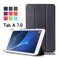 Для Samsung Galaxy Tab A 7.0 SM-T280 SM-T285 Бизнес-Мультфильм окрашенные Печати ИСКУССТВЕННАЯ Кожа Откидная Крышка Case Для Samsung T280 T285
