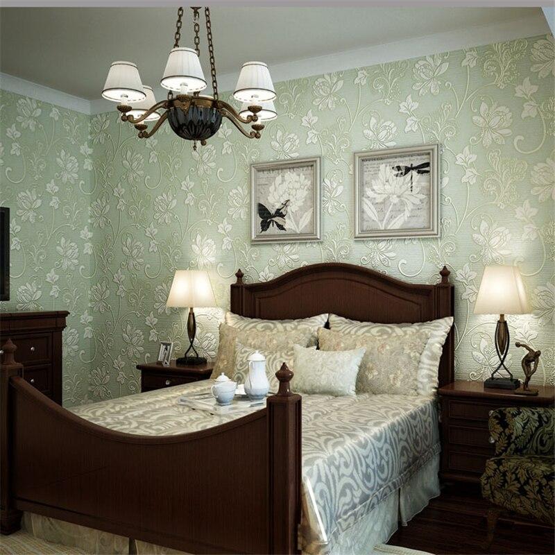 beibehang 3D three dimensional foam nonwoven wallpaper Modern minimalist bedroom living room walls carved pattern papel de pared
