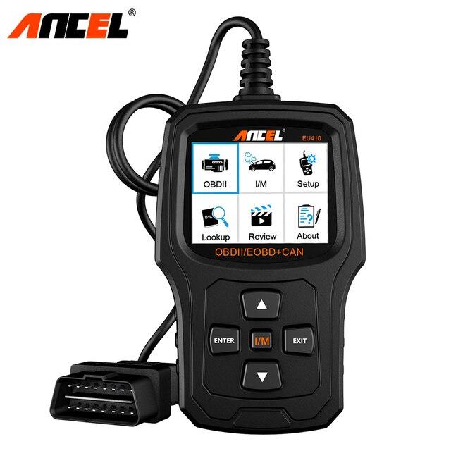 ANCEL EU410 OBD2 Scanner Automotive scan tool For Renault Peugeot Citroen Opel VW Car Diagnostics Engine Code Reader OBD 2 ODB