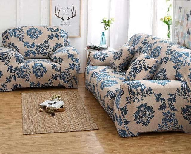 Elastic Sofa Chair Covers Inclusive Universal Cloth Cover Anti Skid Fabric Cushion Combination Full Lay