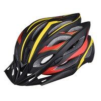 Горячая Сверхлегкий интегрально-литой Велоспорт шлем свет для MTB дорожный велосипед Casco Ciclismo безопасный Кепки Для мужчин 22 вентиляционные о...