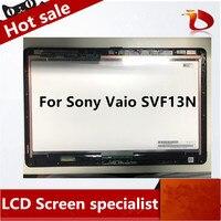 Original 13.3 Full HD for Sony Vaio SVF13N SVF13N1C5E SVF13N13CXB SVF13N18SCB Flip LCD Touch Screen nc133wsl02 Display matrix