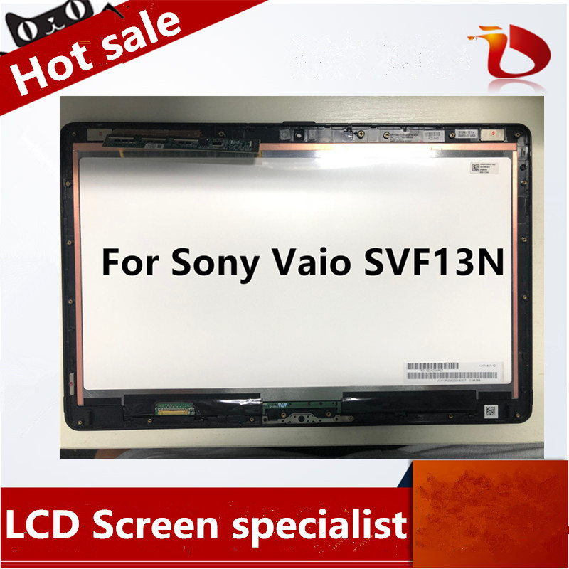 Original 13.3 Full HD for Sony Vaio SVF13N SVF13N1C5E SVF13N13CXB SVF13N18SCB Flip LCD Touch Screen nc133wsl02 Display matrix