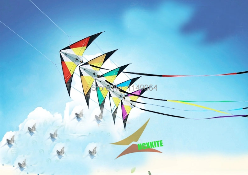 free shipping high quality five series dual line stunt kites with handle line and 15m tails outdoor fun sports parafoil  volante 2 5m huge dual line control soft frameless stunt parafoil flying kite plaid cloth made with 2 line board and 2 x 40m line