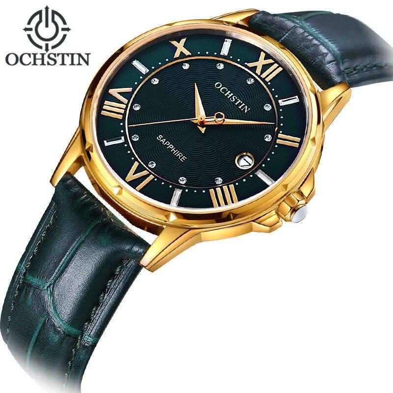 2018 femmes montres marque de luxe célèbre en cuir véritable japon mouvement montre-bracelet à Quartz femme automatique Date horloge Relogio Feminino - 2