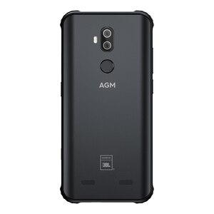 Image 4 - AGM X3 5,99 дюймов 4G LTE Android смартфон прочный IP68 мобильный телефон 8 ГБ 128 Гб мобильный телефон NFC 4100 мАч 12 Мп + 24 МП Двойная камера заднего вида