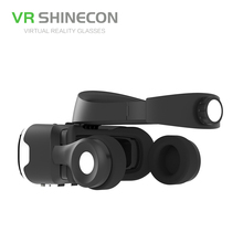 VR Shinecon 4.0 Stereo Virtual Reality Smartphone 3D Glasses Headset Google BOX
