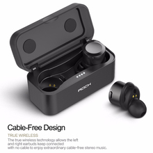 ROCK True Wireless Stereo Earphones with Mic for Smartphone