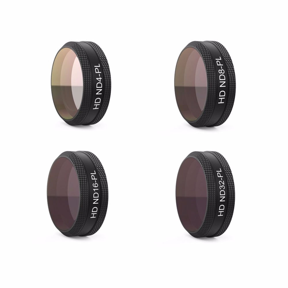 4pcs/set PGYTECH ND-PL Lens Filters Thread Version ND4-PL ND8-PL ND16-PL ND32-PL for DJI MAVIC AIR