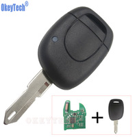 OkeyTech Remote Car Key 1 Button For Renault Clio II 2001 2002 2003 2004 2005 ID46