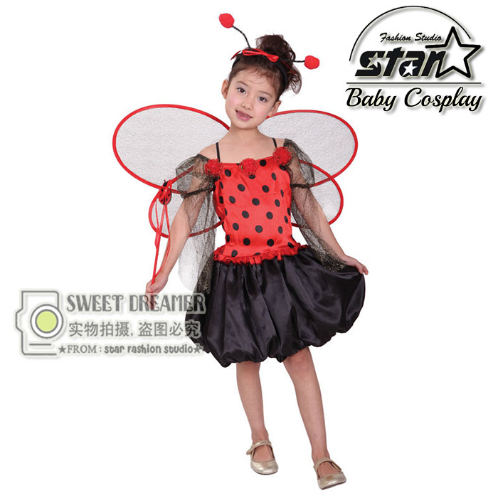 Girls Halloween Costumes Butterfly Cosplay Dress With Headwear & Wings Stage Wear Clothing Kids Masquerade Dance Party Clothes halloween butterfly wings head band wand white 3 piece set