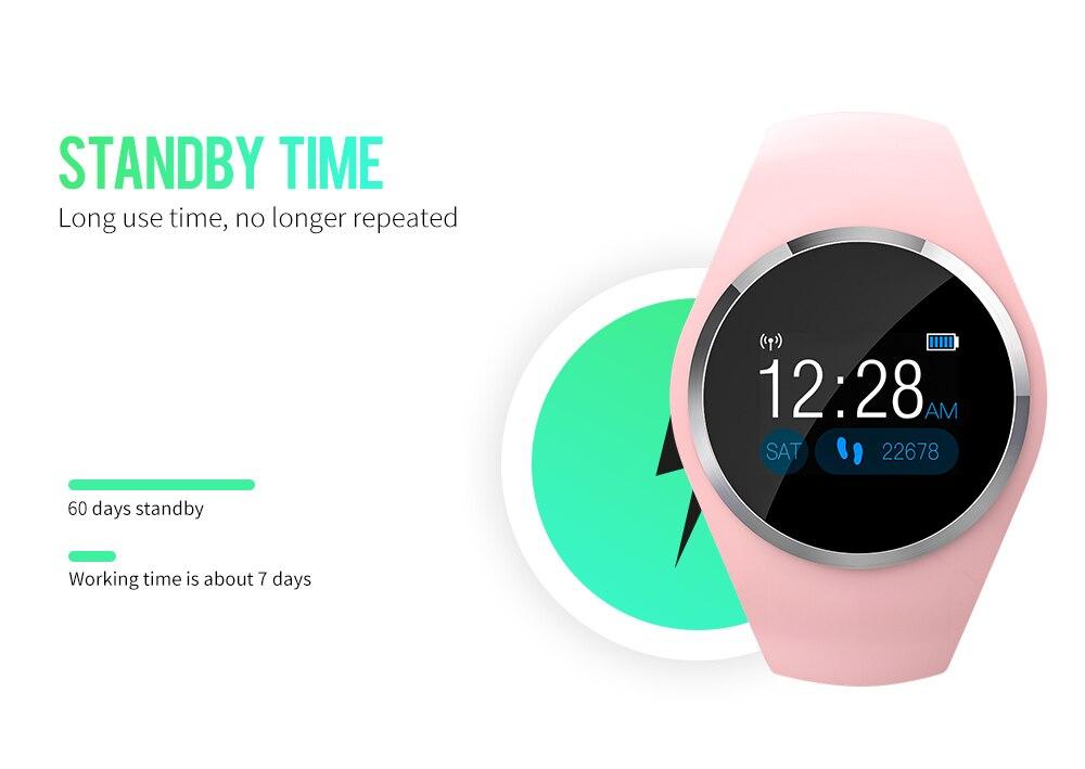 CYUC Q1 Smart Wristband Color LCD Screen Blood Pressure Heart Rate Monitor smart band Fitness Tracker Smart Bracelet ladies 11