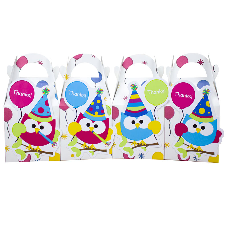 Bagoly Ajándékdoboz Candy Box Ajándékdoboz Kedvenc Box 8PCS / Sok - Ünnepi és party kellékek