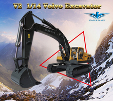 1/14 Scale Volvo RC Hydraulic Excavator 2.0 Version(1/14 Earth Digger 360L Hydraulic Excavator)