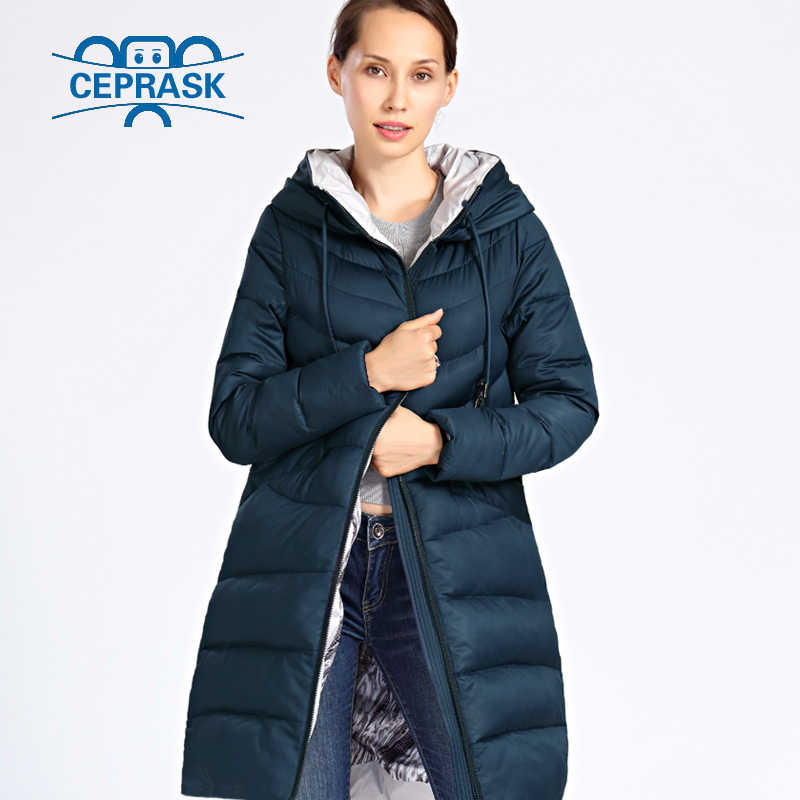 cceee0f19f6 ... 2018 New Winter Jacket Women Plus Size Long Thick Fashion Womens Winter  Coat Hooded Down Jackets ...