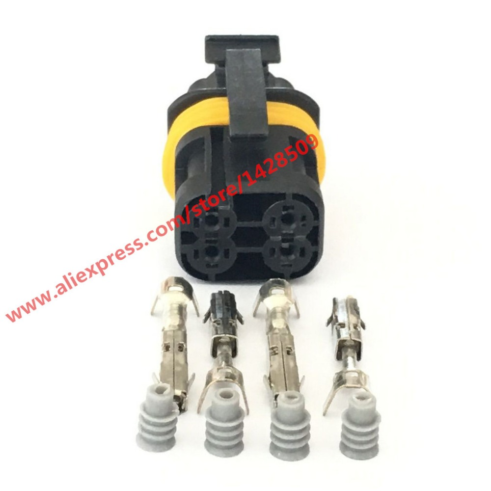 4 pin wiring harness diagram 20 sets 4 pin automotive connector wire harness female ...