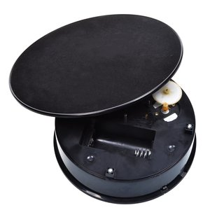 Image 2 - 20cm 360 Degree USB Electric Rotating Turntable Display Stand for Photography Max Load 1.5kg video shooting props Turntable