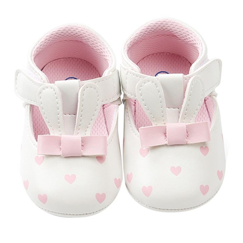 Cartoon Baby Shoes Newborn Cartoon Baby Girl Shoes Spring First Walker PU Baby Girl Shoes Princess Cartoon Cute Prewalker